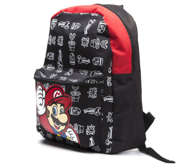 Mario Backpack (Red & Black)