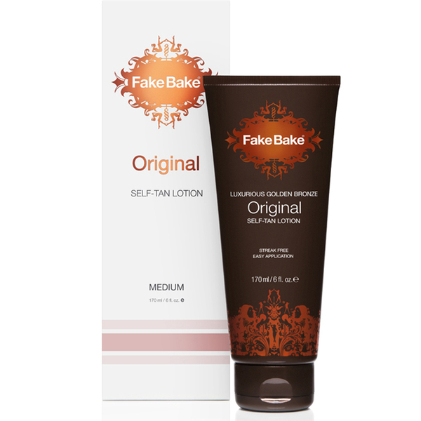 Fake Bake Luxurious Golden Bronze Original Self-Tan Lotion (170 ml)