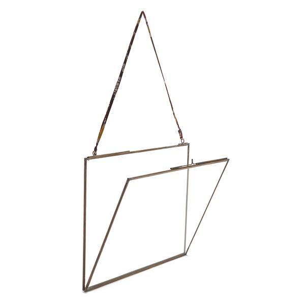 Nkuku Extra Large Kiko Glass Frame - Antique Copper - Landscape 11 ...