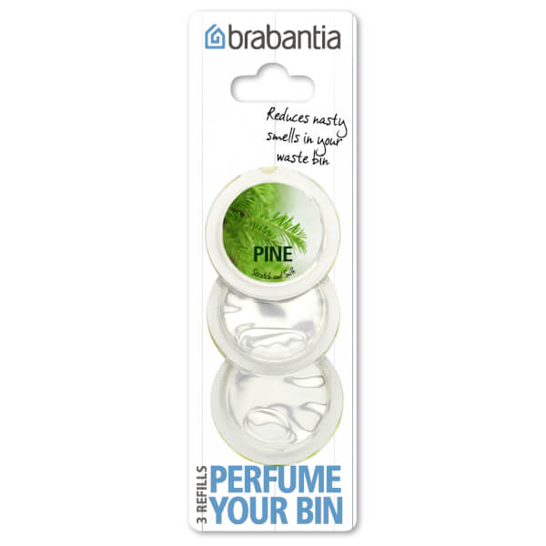 Brabantia Perfume Your Bin Refills [3 Capsules, Pine Scent]
