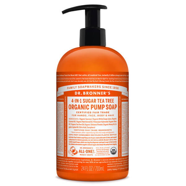 Dr. Bronner Organic Shikakai Tea Tree Hand Soap (709 ml)