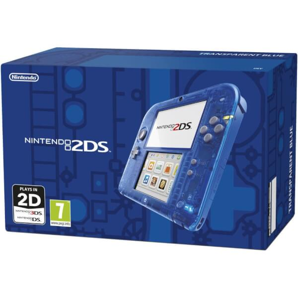 Nintendo 2DS Transparent Blue