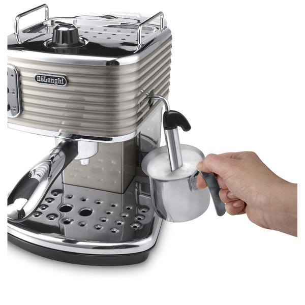 Champagne Coffee Maker ~ De longhi scultura espresso coffee machine champagne