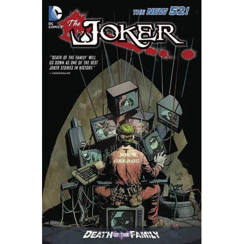 Joker: Death of the Family (The New 52) Paperback Graphic Novel