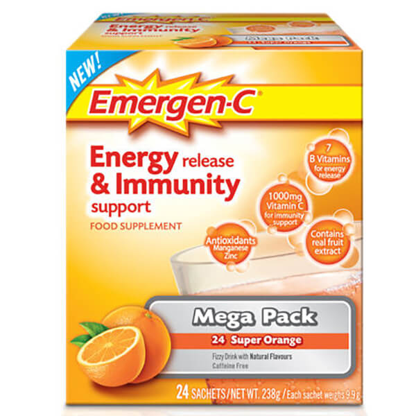 Emergen-C Orange Pack (Mega Pack 24 porsjoner)