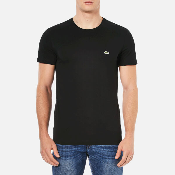 Lacoste Men's Basic Crew T-Shirt - Black