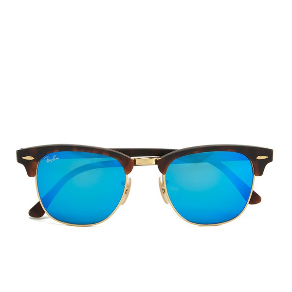 Ray-Ban Clubmaster Sunglasses - Sand Havana/Gold - 51mm