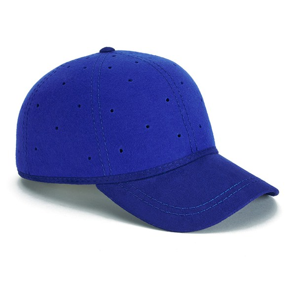 7df46f0f Christys' London Men's Perforated British Ball Cap - Blue: Image 2