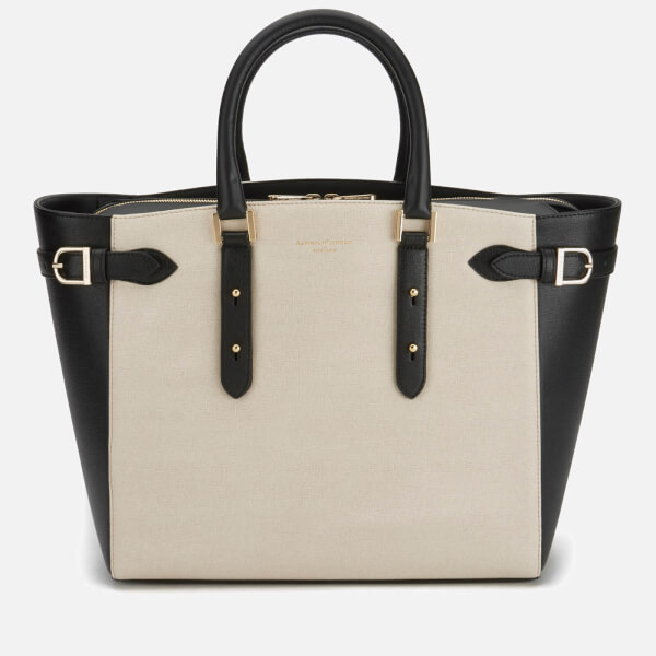 Aspinal Of London Women S Marylebone Tote Bag Monochrome Image 1