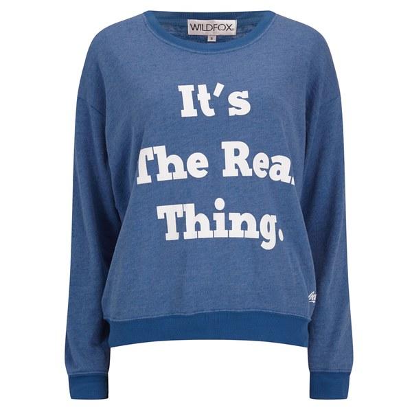 Wildfox Women's Oversized The Real Thing Sweatshirt - Howl