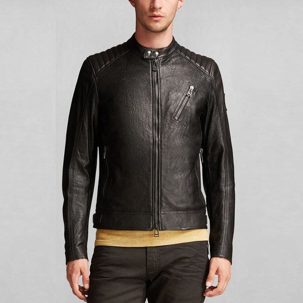 Belstaff Blouson Leather Jacket
