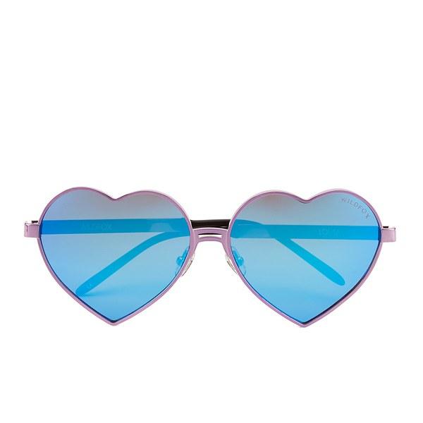 Wildfox Women's Lolita Deluxe Sunglasses - Purple
