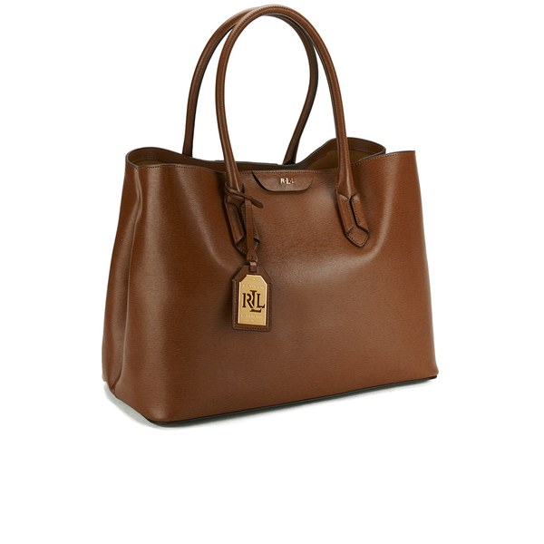 ca826886bce0c ... usa lauren ralph lauren womens tate city tote bag lauren tan image 4  d3760 261db