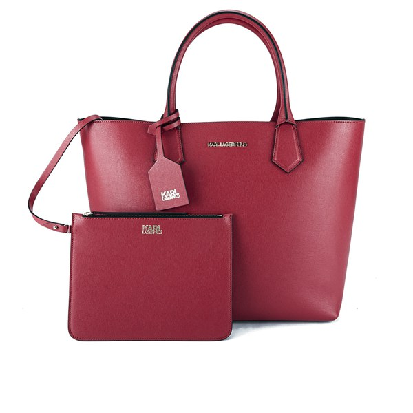 Karl Lagerfeld Karl Kolor Shopper Bag Raspberry