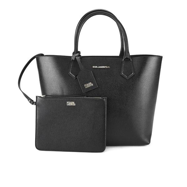 Karl Lagerfeld Karl Kolor Shopper Bag - Black