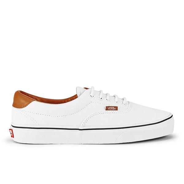 Vans Mens Era 59 Washed CL Trainers  True White Image 1