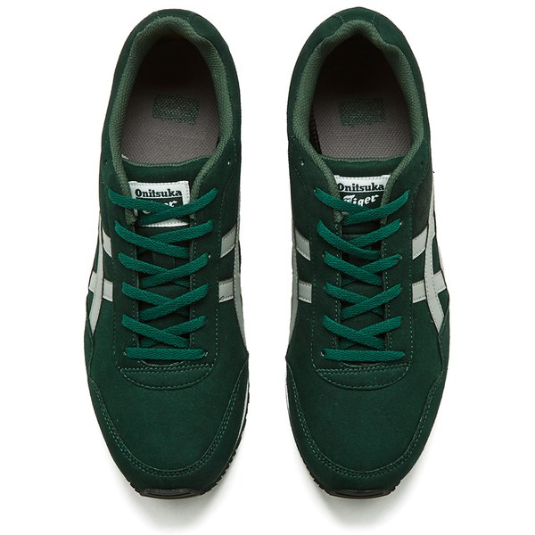 asics curreo dark green and black