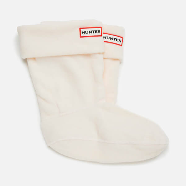 Hunter Short Boots Socks - Cream