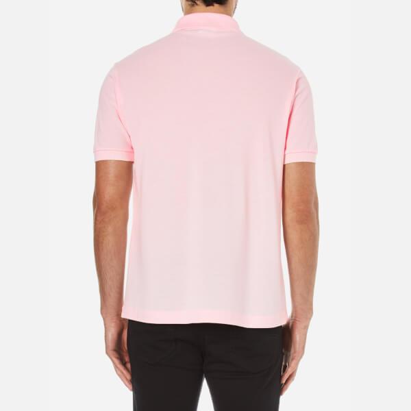 Lacoste Men S Polo Shirt Flamingo Clothing Thehut Com