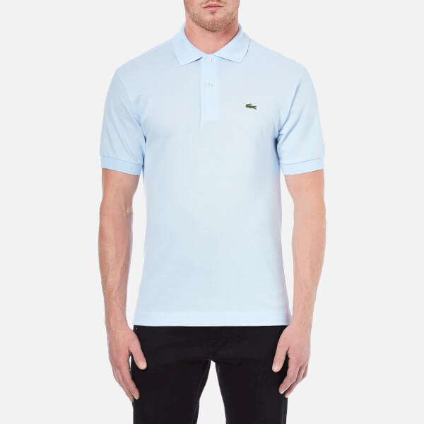 lacoste men 39 s polo shirt baby blue clothing