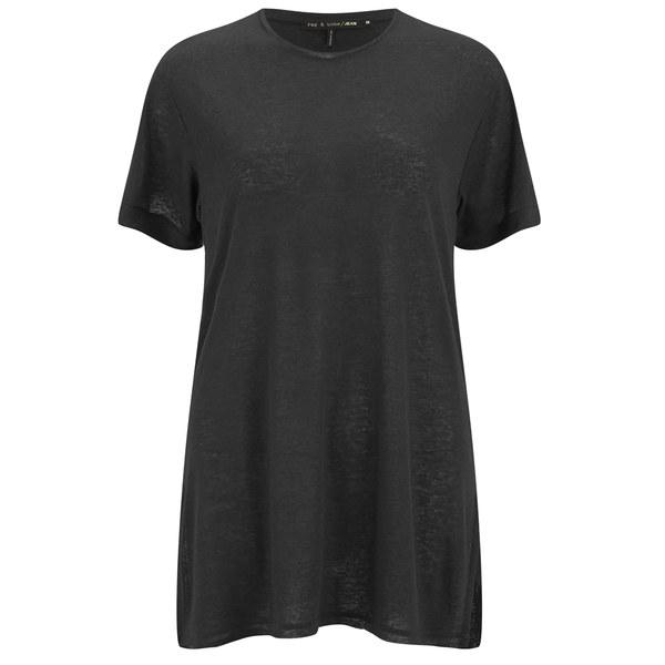 rag & bone Women's Hollins T-Shirt - Caviar