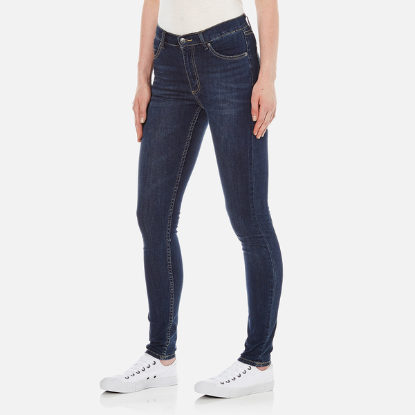 Cheap Monday Women's Second Skin High Waisted Skinny Jeans ...