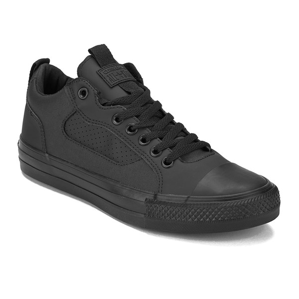 Converse Men's Chuck Taylor All Star Asylum Canvas Trainers  Black  Monochrome: Image 4