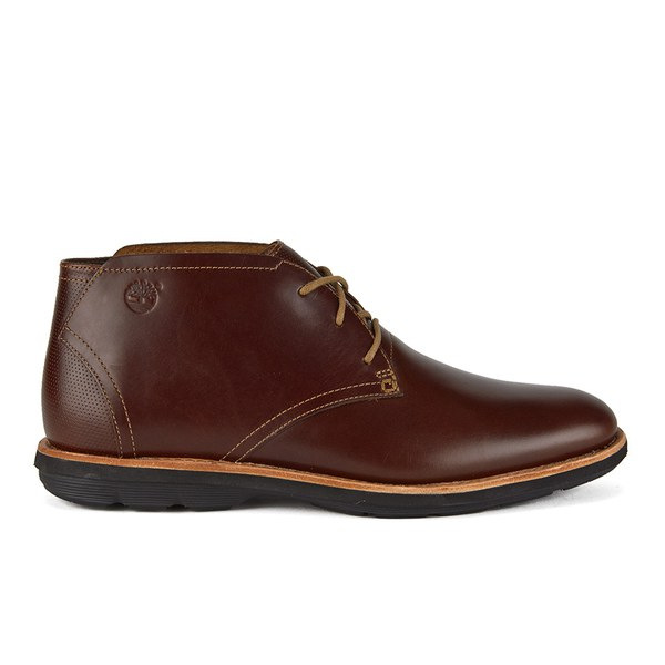 074db1239a77 Timberland Men s Earthkeepers Kempton Leather Chukka Boots - Brown Full  Grain  Image 1