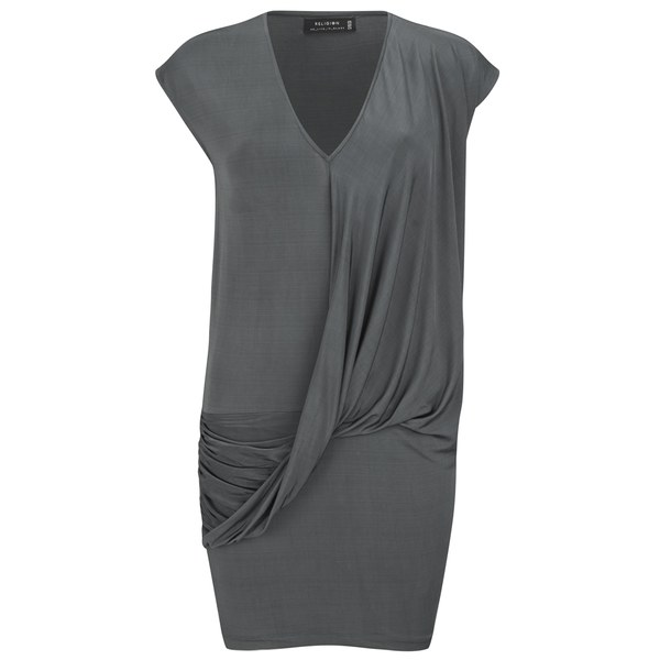 Religion Women's Tumble Dress - Dark Grey