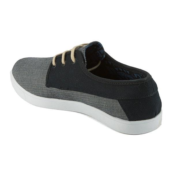 Rip Curl Men S San Seb Canvas Leisure Shoes Grey Black Image 5