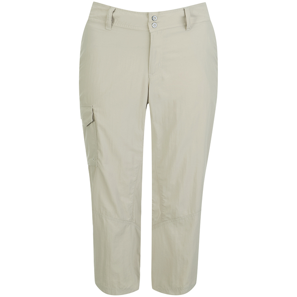 Columbia Women's Silver Ridge Capri Pants - Fossil Bone