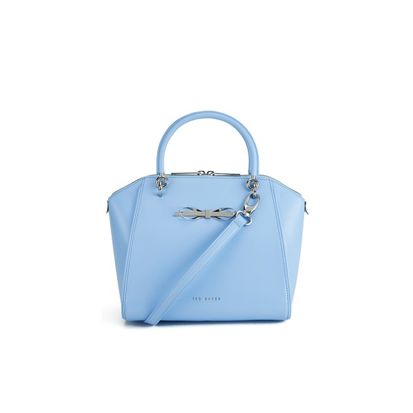 Ted Baker Women's Lailey Metal Slim Bow Leather Small Tote Bag ...