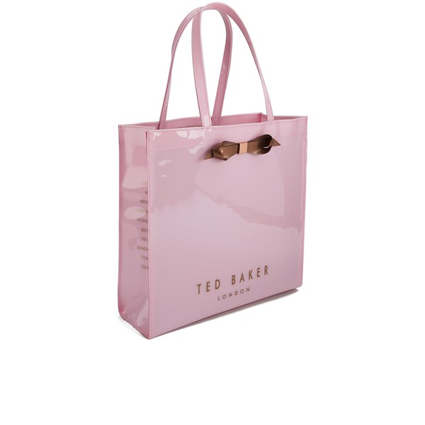 ea6a31dbb9f6f6 Ted Baker Women s Tedcon Plain Bow Icon Tote Bag - Baby Pink  Image 2