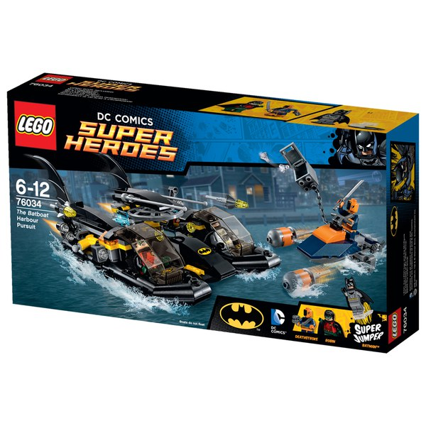 LEGO Super Heroes: The Batboat Harbor Pursuit (76034)