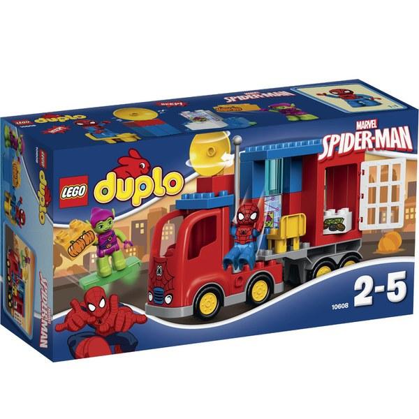 LEGO DUPLO: L'aventure de Spider-Man en camion araignée (10608)