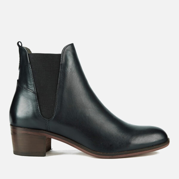 H Shoes by Hudson Women's Compound Leather Chelsea Boots - Black