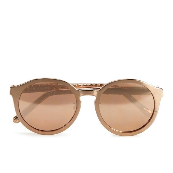 Linda Farrow Women's Sunglasses with Rose Gold Lens - Rose Gold