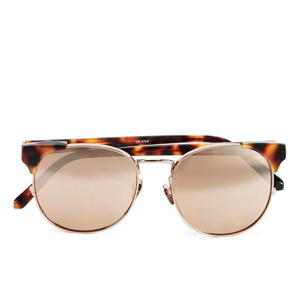 Linda Farrow Women's Sunglasses with Rose Gold Lens - Tortoise Shell/Rose Gold