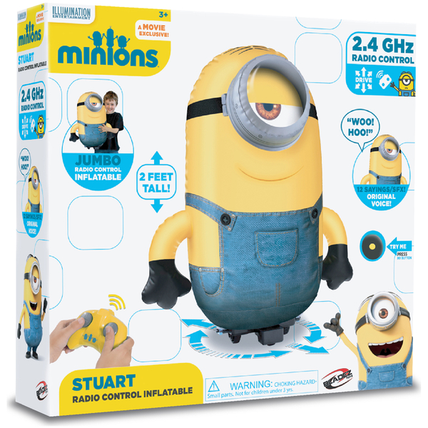 Inflatable radio controlled minion fuck 5