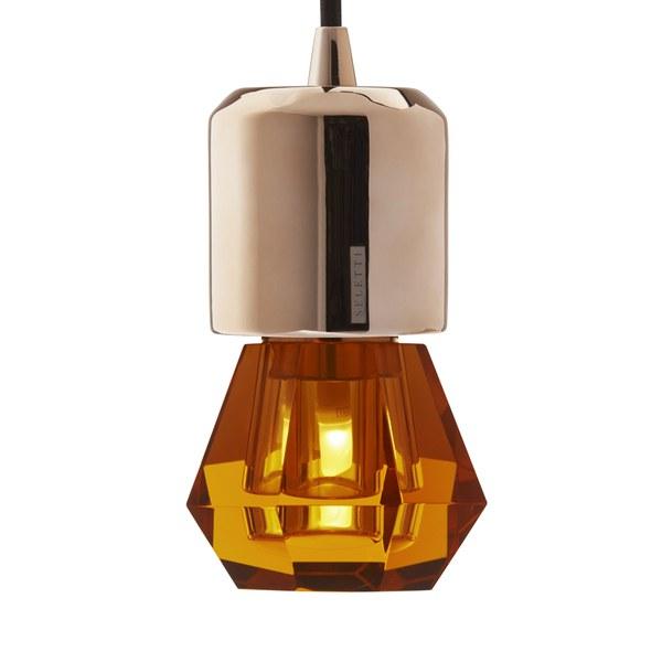 Seletti Crystaled Spot LED Lamp Bulb E27 - Amber