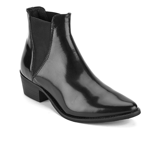 steve madden s anyml pointed leather chelsea boots