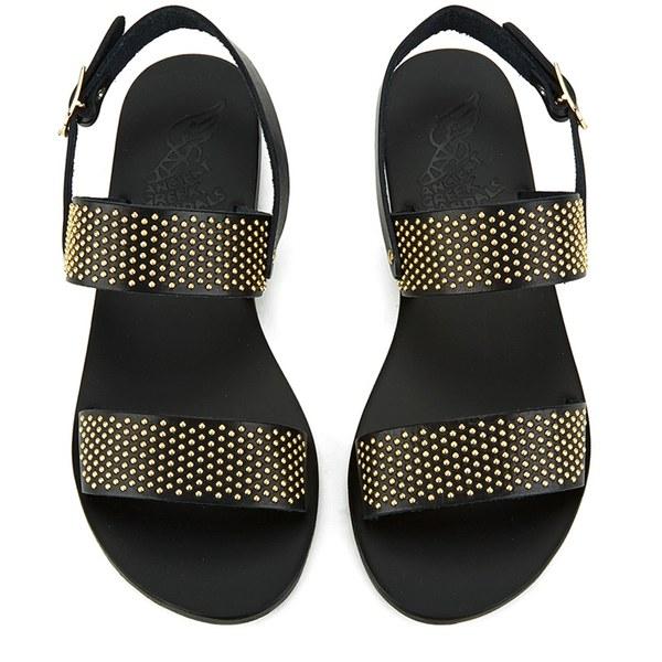 Ancient Greek Sandals Women S Dinami Two Part Studded