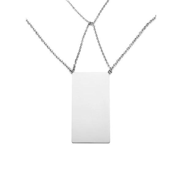 By Malene Birger Women's Gracen Necklace - Silver