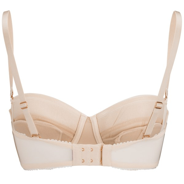L Agent by Agent Provocateur Women s Penelope Padded Strapless Bra - Nude   Image 2 d50b2f6b4