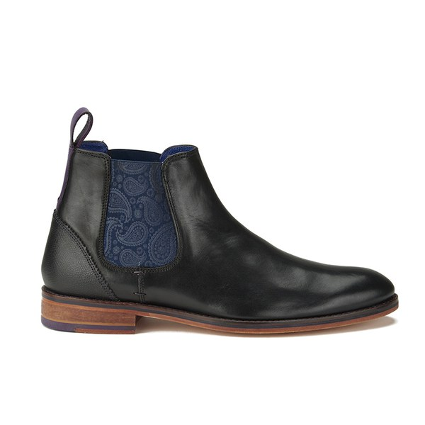 For Mens Ted Baker Mens Camroon 2 Boots Black Shoes Black