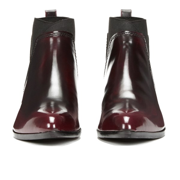 5ae86090a90e8 Ted Baker Women s Maki Leather Chelsea Boots - Dark Red  Image 4