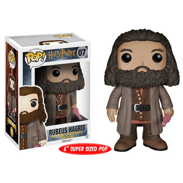 Harry Potter Rubeus Hagrid Pop Vinyl Figure Iwoot