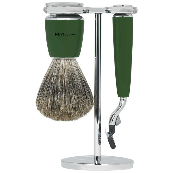 Neville 3 Piece Shaving Set