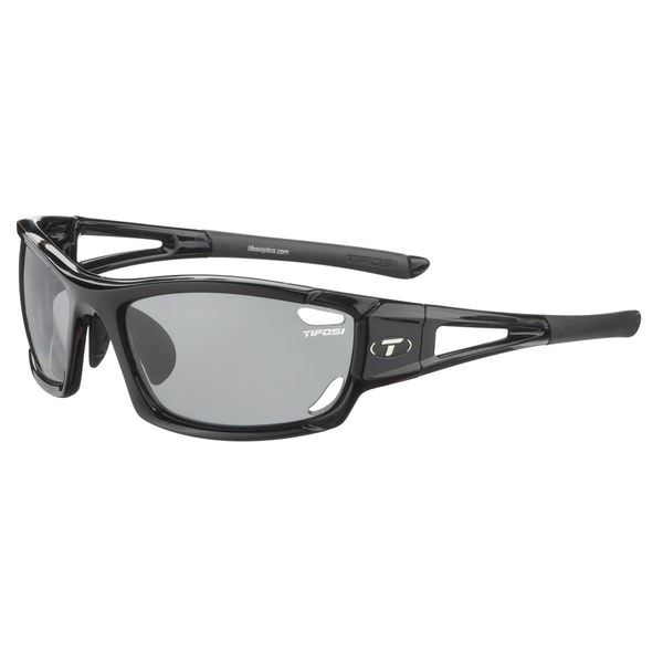 da0471627f Product Images Carousel. Tifosi Dolomite 2.0 Interchangeable Sunglasses -  Gloss Black Fototec Light Night