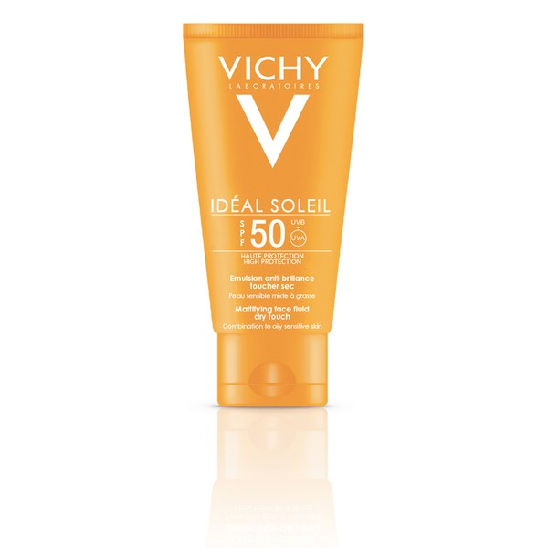Vichy Ideal Soleil emulsion anti-brillance toucher sèche SPF 50 50ml